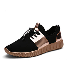 Top Quality autumn Fashion Men&Women Casual Shoes Gold black Lace Breathable Mesh Couple Trainers shoes tenis feminino 256-Dollar Bargains Online Shopping Australia