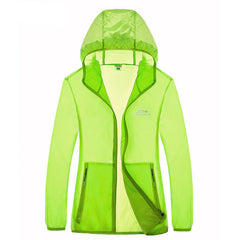 Summer fast dry skin coat hiking outdoor sports skin clothing thin breathable waterproof anti UV couple camping-Dollar Bargains Online Shopping Australia