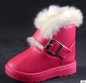 Girl Boy Sneakers Children Snow Boots Thicken Winter Children Shoes For Baby Kids 4 colour-Dollar Bargains Online Shopping Australia