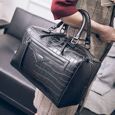 82ad36e761 Big Luxury Handbags Women Bag Women Messenger Bags Leather Handbags Snake  Purses Famous Brand Designer Tote Ladies Hand Bag