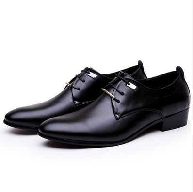 New High Quality Leather Men Shoes Brogues Lace-Up Bullock Business Men Oxfords Shoes Men Dress Shoes Big Size 38- 46-Dollar Bargains Online Shopping Australia
