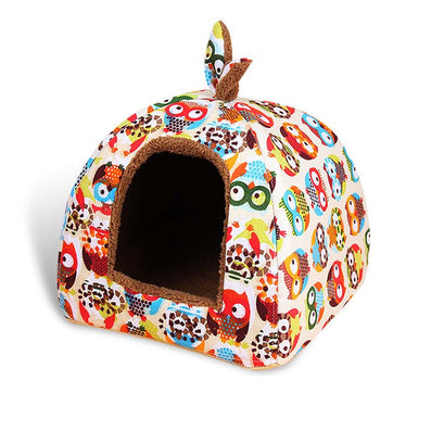Fashion Soft Winter Dog House Summer Dog Bed Fashionable Puppy Pet Chihuahua Small Dog Sofa Cats Bed Dog Bed Nest Mat Kennel-Dollar Bargains Online Shopping Australia