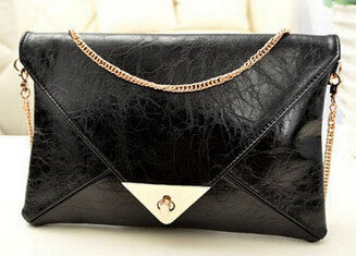 0e80c5da1ff7 Envelope clutch bag messenger bag shoulder pouch women pu leather handbags  A40-246