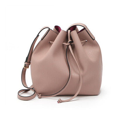 Newest M Bucket Bag All-Match Women PU Leather Hand Bag Top Famous Designer Bags Cross-Body Handbag Fashion Women Bags-Dollar Bargains Online Shopping Australia