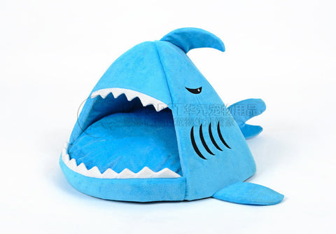Warm Soft Cat House Winter Pet Sleeping Bag Beautiful Shark Dog Kennel Cat Bed Puppy Small Dog Cushion Sofa pet products #K-Dollar Bargains Online Shopping Australia