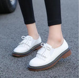 Brand Shoes Woman Print Brogue Oxford Shoes National Style PU Flats Shoes Bohemia Moccasins Ladies Shoes-Dollar Bargains Online Shopping Australia