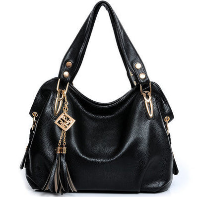 Quality PU Leather Tassel Bag Shoulder Bags Women Messenger Bags Women Handbag Women Leather Handbags-Dollar Bargains Online Shopping Australia