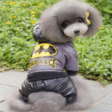 Pet Clothes New Winter Warm Dog Coat Jumpsuit Hoodie Thicken Cotton-Padded Pet Clothing For Teddy Dogs Costume Cat Dog Clothes-Dollar Bargains Online Shopping Australia