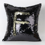 Happy New Fashion Beauty Double 40X40CM Color Glitter Sequins Throw Pillow Case Cafe Home-Dollar Bargains Online Shopping Australia