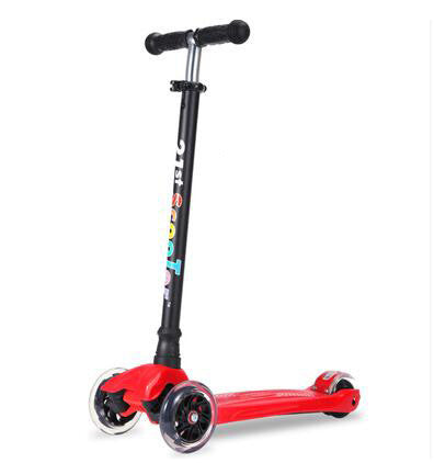 Red21st Scooter Flash Wheel Children 3-12 Years Outdoor Toys Baby Tricycle Four Wheels Kid Bike Slide Ride on Toy