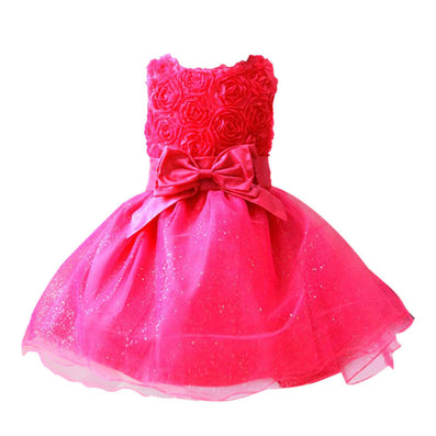 summer new arrival flower princess girl dress lace rose Party Wedding Birthday girls dresses,Candy princess tutu elegant-Dollar Bargains Online Shopping Australia