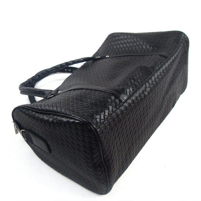 Emboss Knitting Pattern Leather Travel Bag for Men Women Luggage Travel Bags Duffle Bag maletas de viaje sac de voyage L471-Dollar Bargains Online Shopping Australia