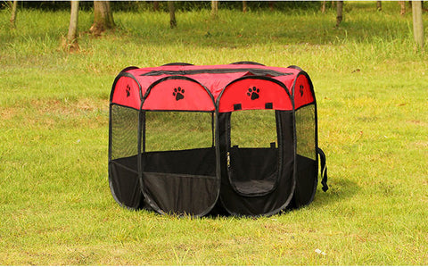 Pet Cage Supplies 600D Oxford Dog Carrier Dog Playpen For Dog Cat Fence Kennel Dog House Outdoor Cat House Playpen Exercise-Dollar Bargains Online Shopping Australia