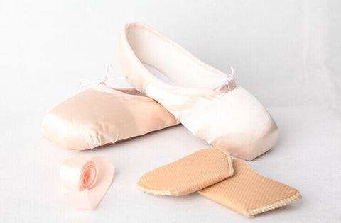 Child and Adult ballet pointe dance shoes ladies professional ballet dance shoes with ribbons shoes woman-Dollar Bargains Online Shopping Australia