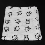 Ainaan Muslin Cotton Baby Swaddles For Newborn Baby Blankets Black & White Gauze Bath Towel-Dollar Bargains Online Shopping Australia