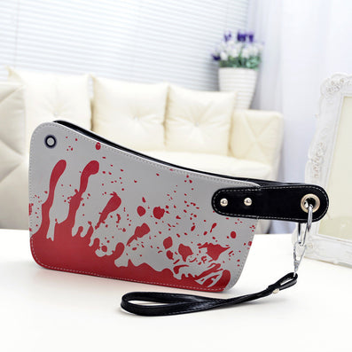 MAGIC UNION Fashion Women's Handbags Cleaver Clutch Bags Blood Choppers Purse Handbag Creative Phone Package Women Leather Bag-Dollar Bargains Online Shopping Australia