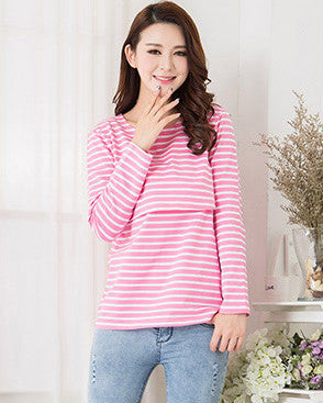 acb1f50a208a9 MamaLove Fashion Maternity Clothes Maternity Tops/ t shirt Breastfeeding  shirt Nursing Tops pregnancy clothes for