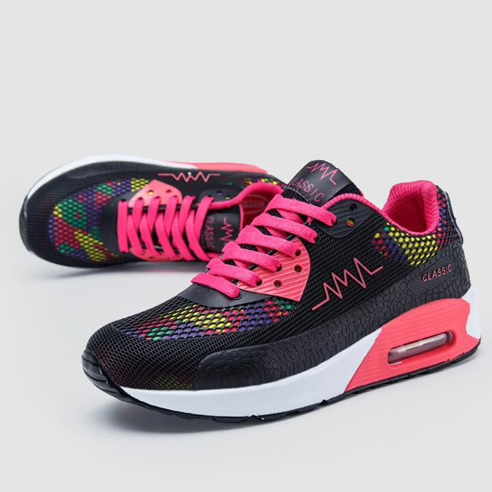 New Fashion Flats Women Trainers Breathable Sport Woman Shoes Casual Outdoor Walking Women Flats