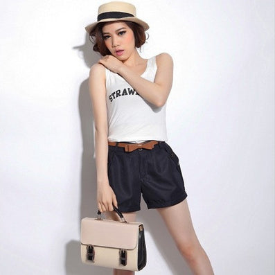 New Fashion Women Summer Shorts Short Woman Casual Ladies Shorts Without Belt A0016-Dollar Bargains Online Shopping Australia