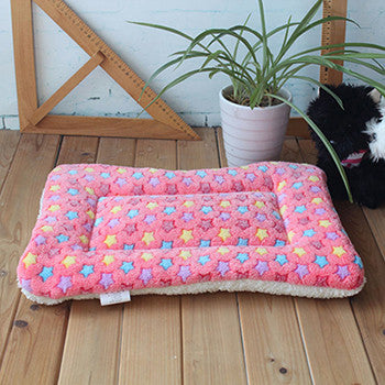 Pink / 65X45 cmActionclub Dog House New Pets Large Beds Fashion Soft Dog House High Quality PP Cotton Plus Size Pet Beds Pets Products HP874