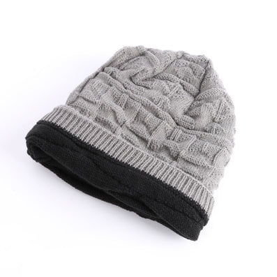 Knit Winter Womens Men Mens Cashmere Hip-Hop Beanie Hat Baggy Unisex Ski Cap Skull-Dollar Bargains Online Shopping Australia