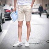 mens shorts print casual Men's shorts fashion cotton shorts homme shorts khaki white green-Dollar Bargains Online Shopping Australia