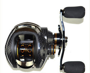 LB200 RIGHT HANDDouble Brake Baitcasting Reel 18 Ball Bearings Fishing Gear Water Drop Wheel Right/Left Hand Bait Casting Fishing Reel Lure Reel
