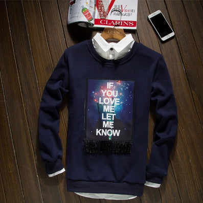 sweatshirt men/ women o-neck sweatshirts Love me let me know print trasher men street wear High quality cotton-Dollar Bargains Online Shopping Australia