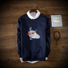 hiphop men sweatershirt funny Tauren print cow Sweatshirts Hoodies Pullover Men's Hoodies Men Casual-Dollar Bargains Online Shopping Australia