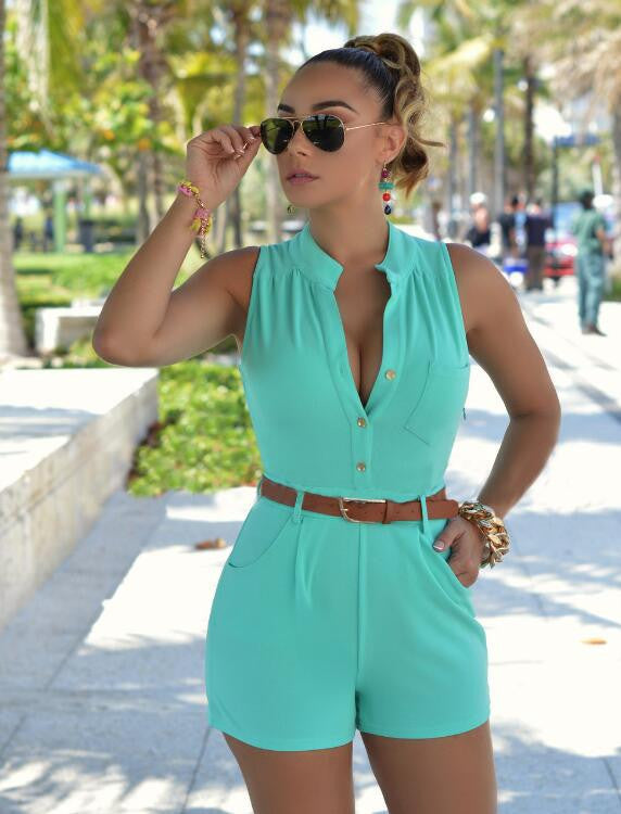 Sexy short jumpsuits