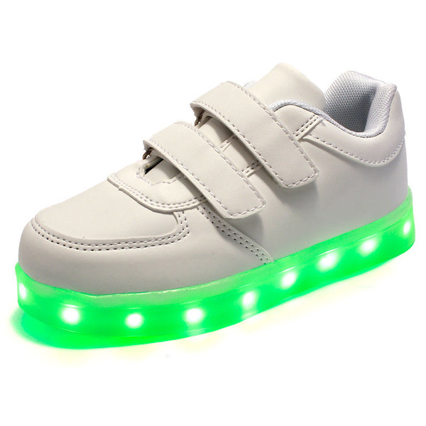b7cd91f28de Led luminous Shoes For Boys girls Fashion Light Up Casual kids 7 Colors  Outdoor new simulation