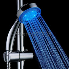 1Piece Novelty Heat Sensitive LED Shower Head Temperature Sensor Bath Sprinkler Powered By Water-Dollar Bargains Online Shopping Australia