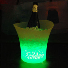 5L Volume plastic led ice bucket color changing,5L bars nightclubs LED light up ice bucket Champagne beer bucket-Dollar Bargains Online Shopping Australia