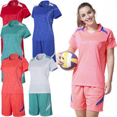 New Arrival Polyester Women Sports Volleyball Jersey Uniforms Soccer Running Training Suit Leisure Jogging Printing Green L-Dollar Bargains Online Shopping Australia