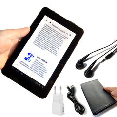 7inch LCD Screen E-book reader smart HD eye-safe display wifi digital players with global Multi-language Support micro sd-Dollar Bargains Online Shopping Australia