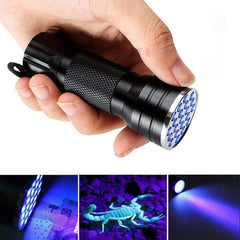 Camping Led light UV Ultra Violet High Power Rechargeable LED Flashlight Blacklight Aluminum Led Flashlight Ultra Bright Torch-Dollar Bargains Online Shopping Australia