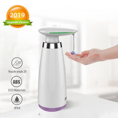 350ml Automatic Soap Dispenser Hand Free Touchless Sanitizer Bathroom Dispenser Smart Sensor Liquid Soap Dispenser for Kitchen-Dollar Bargains Online Shopping Australia
