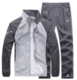 brand tracksuits men's patchwork sportswear jackets+pants mens hoodies and sweatshirts outwear suits man plus 5XL sets-Dollar Bargains Online Shopping Australia