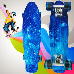 High Quality 100 kg Load Retro Skateboard Starry Sky Pattern Board Durable Light Environmental Outdoor Sport Skate Board 1484064-Dollar Bargains Online Shopping Australia