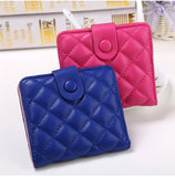 Korea Fashion high quality faux leather women wallets multi-cards position short hasp purse female XF212-Dollar Bargains Online Shopping Australia