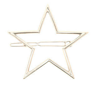 Vintage Gold/ Silver Color Metal Triangle Hairpin Girls' Hair Clips Women Fashion Hair Accessories - Dollar Bargains - 16