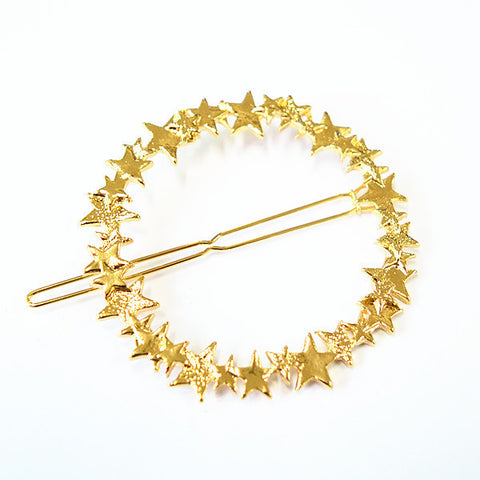 Vintage Gold/ Silver Color Metal Triangle Hairpin Girls' Hair Clips Women Fashion Hair Accessories - Dollar Bargains - 15