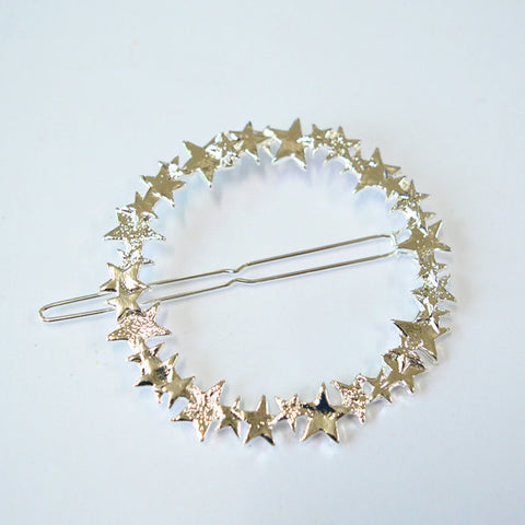 Vintage Gold/ Silver Color Metal Triangle Hairpin Girls' Hair Clips Women Fashion Hair Accessories - Dollar Bargains - 19