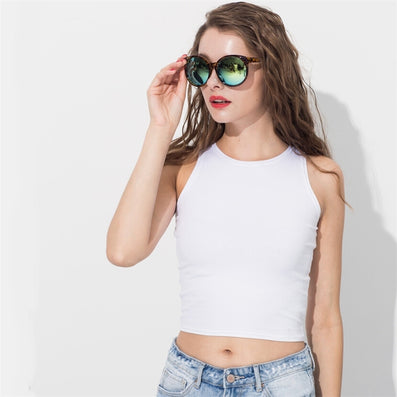 Women's clothing brand design tank tropical crop tops latinas sexy top fitness tshirt bandage top tanks body shirt-Dollar Bargains Online Shopping Australia