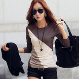 Blusas Femininas Autumn Fashion Cotton Blouse Women Shirts Blouses Casual O Neck Long Sleeve Cotton Tops-Dollar Bargains Online Shopping Australia