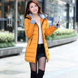 Wadded Jacket Female Women Winter Jacket Down Cotton Coat Slim Parkas Ladies Plus Size Womens Jackets And Coats TD2-Dollar Bargains Online Shopping Australia