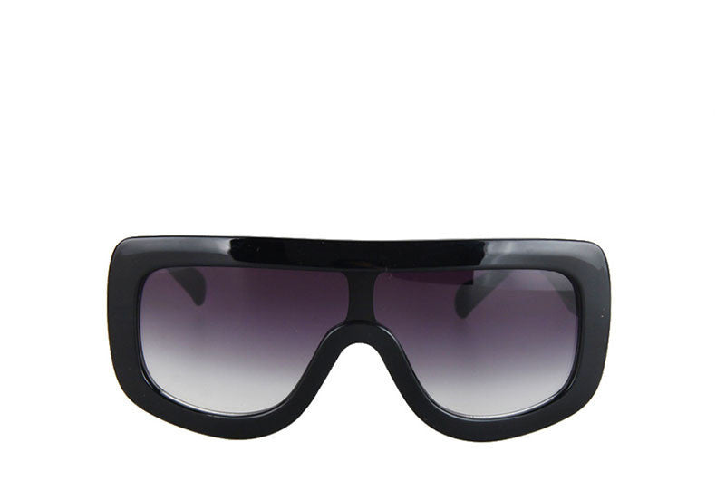 Black Gray E09New Oversized Rivet ADELE Brand Designer Celebrity Kim Kardashian Women Sunglasses Sexy Sun Glasses Flat Top Lady Female