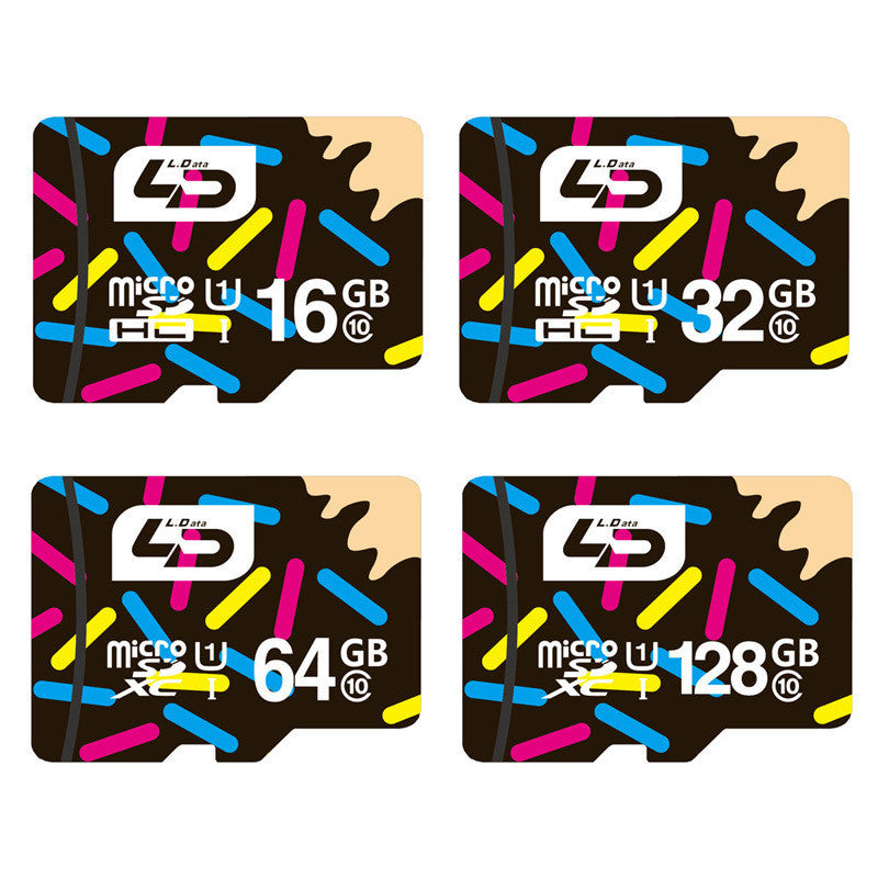 128GB C10 / ChinaLD Micro SD Card 32GB Class 10 16GB/64GB/128GB Class10 UHS-1 8GB Class 6 Memory Card Flash Memory Microsd for Smartphone