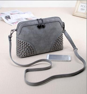 Fashion vintage chain small bag scrub fashion messenger bag female handbag messenger bag-Dollar Bargains Online Shopping Australia