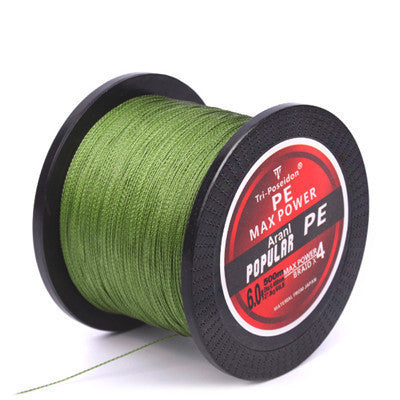 Green / 0.6500M SeaKnight Brand Tri-Poseidon Series Super Strong Japan Multifilament PE Braided Fishing Line 8 10 20 30 40 60LB